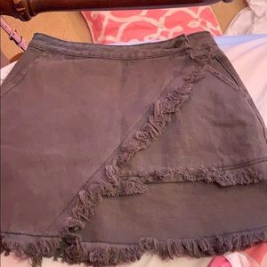 Asymmetrical skirt NWOT